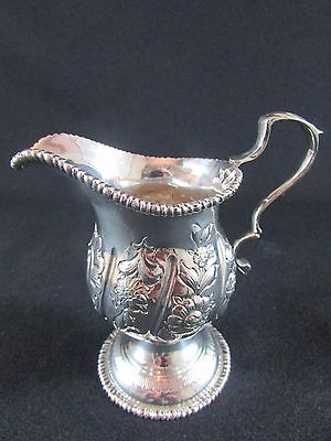 Solid Silver Cream Jug Chester 1909