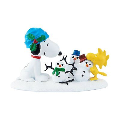 Dept 56 Peanuts Christmas Village Snoopy Woodstock The More the Merrier 4047195