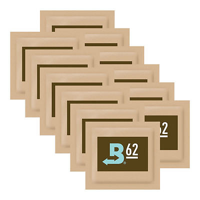 Boveda 62% 8g Medium 12 Pack Humidity 2 Way Control Humidor Curing