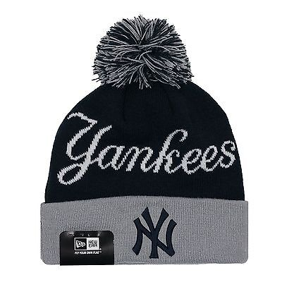 b0b7c46929d932 YOUTH New York Yankees MLB New Era Knit Cuffed Beanie Hat PICK YOUR STYLE