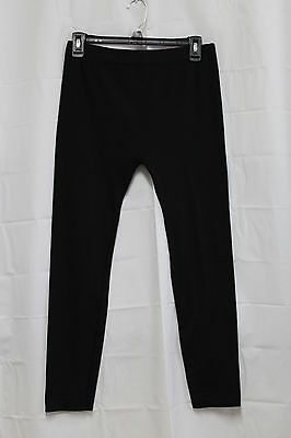 Womens Black Leggings Feathers Maternity Pants One Size Free Shipping