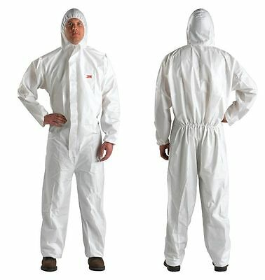 2 SUITS ~  4510 3M ~ COVERALL Safety Disposable PROTECTIVE ~~3XL  MICRO