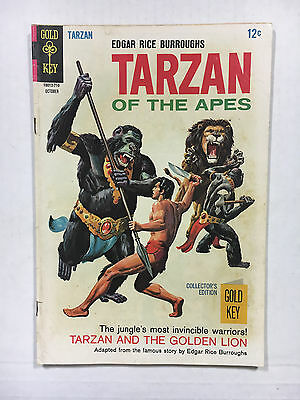 Tarzan #172  VG  Gold key comic 1967 painted cover