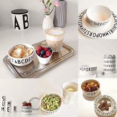 Letters Bowls Snacks Alphabet Bowl Kid Baby Feeding Dinner Tableware Classic HY