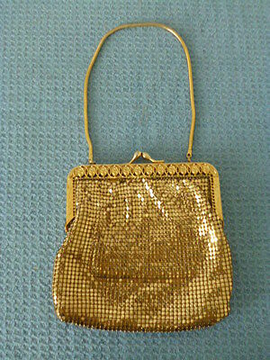 Vintage glow mesh purse evening bag clothing accessory ladies female
