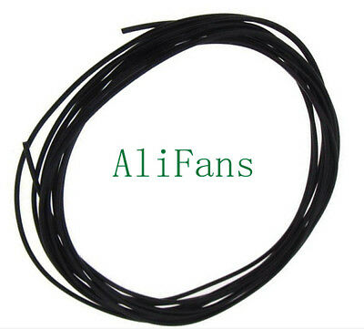 Flexible Stranded of UL 1007 24 AWG wire cable Black 10M 300V
