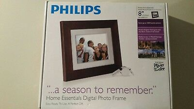 "Philips 8"" digital photo frame-remote"