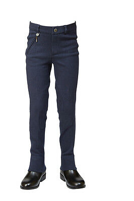 DUBLIN SUPA FIT CLASSIC JODHPURS CHILDS in Navy