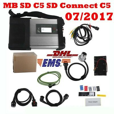 Latest V2017.7 HDD Software for MB SD C5 SD Connect C5 Star Diagnosis with WIFI