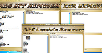 DPF + EGR + LAMBDA REMOVER 2017.5 ALL IN ONE FULL pack