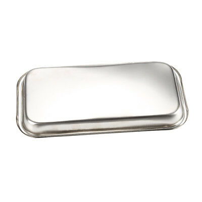 12*22.5cm Surgical Medical Stainless Steel Dental Instrument Rectangle Tray