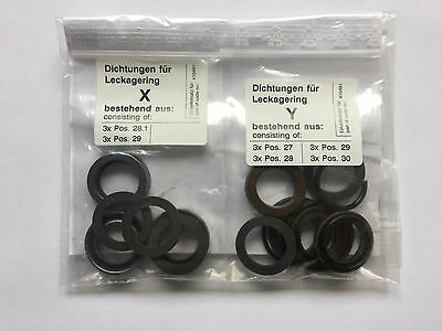 Kranzle K 185 2100 2160 2175 TS TST Pressure Washer Pump Water Seal Kit 410491