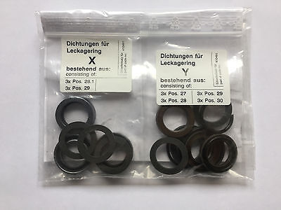 Kranzle Profi B 13/150 10/200 Pressure Power Washer Pump Water Seal Kit 410491