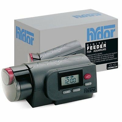 HYDOR Feeder Digital Distributeur Automatique de Nourriture Aquarium NEUF