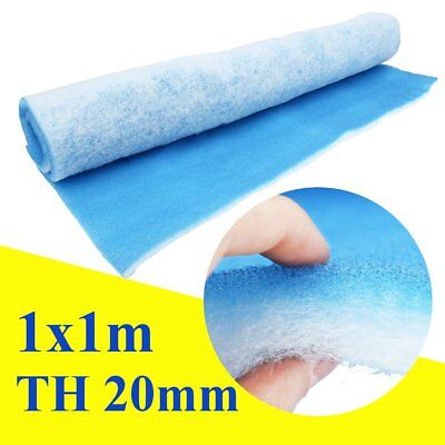 Paint Shop Car Spray Atomize Booth Air Filter Material 1M x1M Thickness 20mm