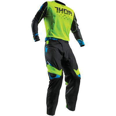 New Thor Mx Prime Fit Rohl Green Black Adult Race Gear Combo Jersey Pants Atv