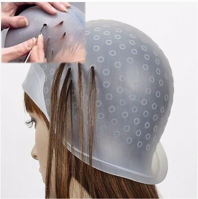 Highlighting Cap & FREE Hook MAGICAP High / Low Hair Light Cap Hair Colouring
