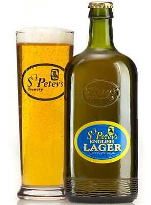 St Peters English Lager 5.2% - 12x500ml