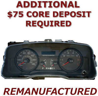 Reman    Ford Crown Victoria Speedometer Instrument Cluster Exchange