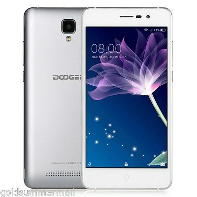 Doogee X10 3G Mobile Phone 5.0'' Android 6.0 Unlocked Dual Core 8GB Dual SIM