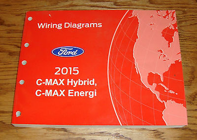 Original 2015 Ford C-MAX Hybrid Energi Wiring Diagrams Manual 15