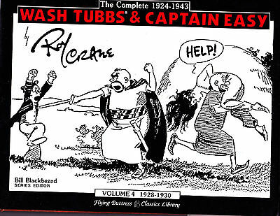 "Wash Tubbs & Captain Easy Vol 4-1988-Strip Reprints Hard Cover-"" 1928-1930 """