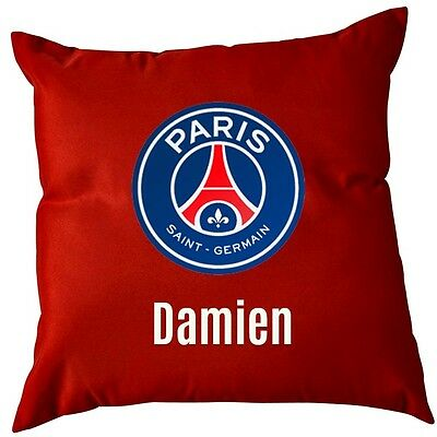 Coussin PSG rouge
