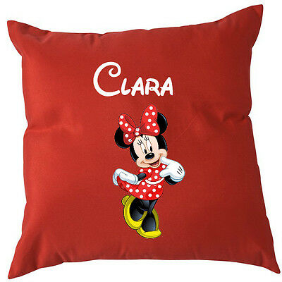 Coussin Minnie rouge