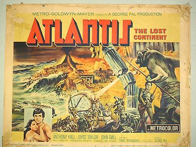 Theatre Lobby Card - Atlantis - The Lost Continent