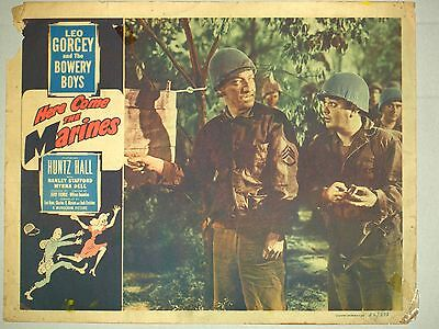 Theatre Lobby Card - Here Comes the Marines