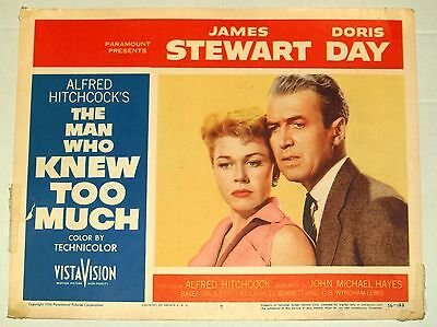 Theatre Lobby Card - The Man Who Knew Too Much