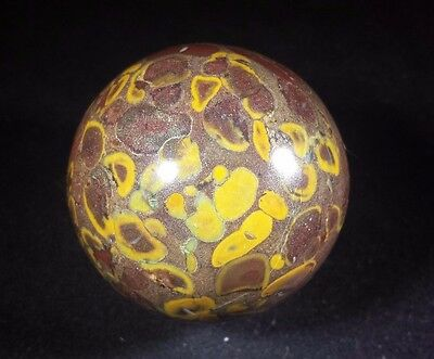 Large!! Picasso Sphere Natural Stone Hand Carved Gemstone Sphere [1]