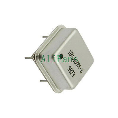 10PCS 100.00MHz 100MHz 100M HZ DIP-4 Active Crystal Oscillators TOP