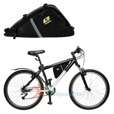 1pc Bike Front Top Tube Triangle Frame Bag Saddle Pouch Storage Case Waterproof