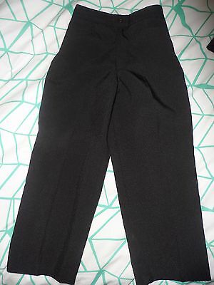 Fred Bracks Boys  Wedding Formal Black Trousers- Size 4