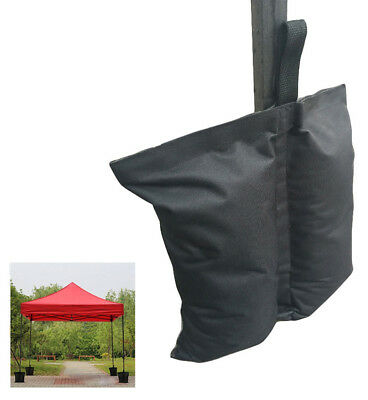 4Pcs Pop Up Canopy Weight Sand Bags Anchor Tent Leg Weighted Sand Bags Outdoor
