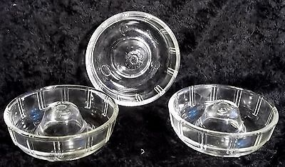 Antique Toy Glasbake LITTLE PRINCESS 3 Ring Pans McKee toys