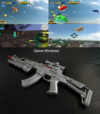 3b43f68efb5f AR GUN Augmented Reality Console Game Controller Bluetooth with Cellphone  Holder