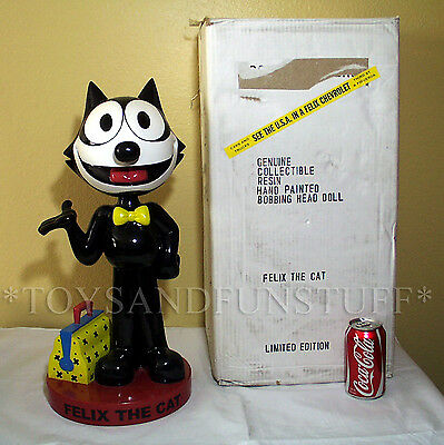 "Giant 21"" FELIX THE CAT Bobblehead BOSLEY BOBBERS STORE DISPLAY Bobble Head BOX"