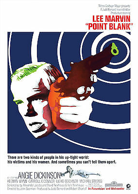 Point Blank (1967) - A2 POSTER ***LATEST BUY 1 GET 1 FREE OFFER***