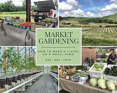 Sustainable Farm, 75 acres, house, barns, River - Market Gardening business