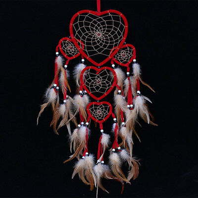Handmade Dream Catcher with feathers car wall hanging decoration ornament Fast