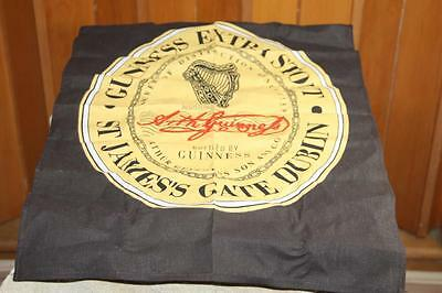 "GUINNESS Extra Stout Beer St James Cloth Bar Towel 16"" x 23"""