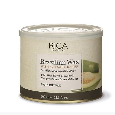 RICA BRAZILIAN WAX AL BURRO DI AVOCADO 400 ml