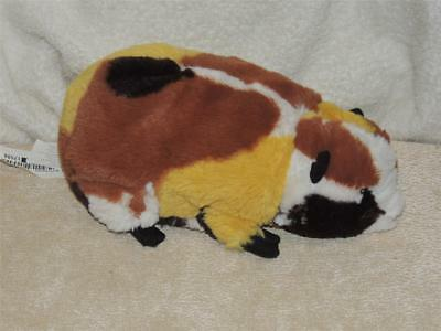 Ikea Gosig Marsvin Guinea Pig Plush Black Tan White Yellow Cuddly Stuffed