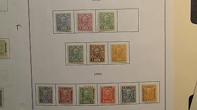 Montenegro stamp collection on Scott Int'l  pages / various