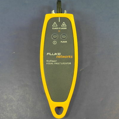 FLUKE NETWORKS VisiFault Visual Fiber Optic Fault Locator, Excellent Condition