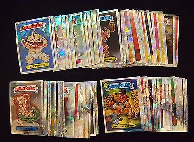 Garbage Pail Kids 2014 Chrome 2 Atomic Refractor Complete Set 110 Cards RARE