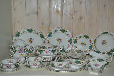 Royal Albert-Porzellan-Bone China-England-Berkeley-Speiseservise-Komplett-37 Tlg