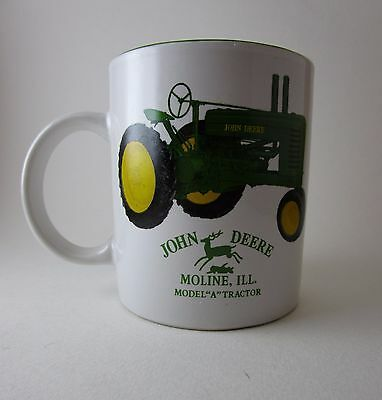 "John Deere Model ""A"" Tractor Moline, ILL Ceramic Coffee Mug Official Product"